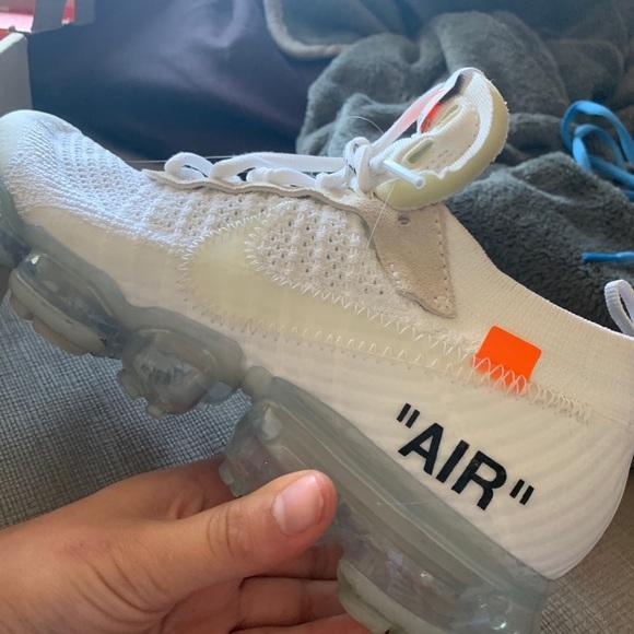 Shoes | Nike X Offwhite Vapormax | Poshmark